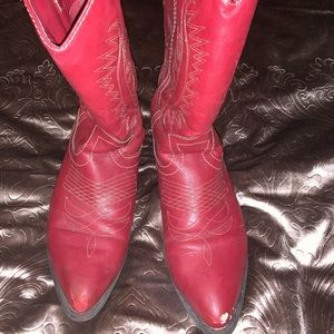 Rampage red boots